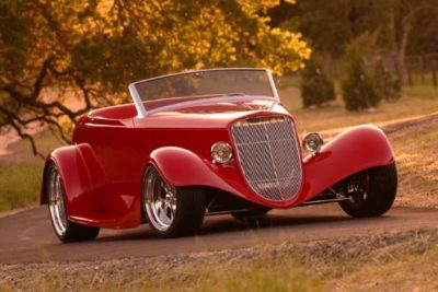 Red Line '33 Ford Roadster